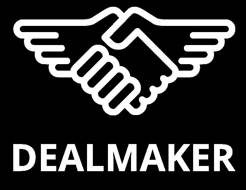 Dealmaker logo, fordelsprogrammer og deals